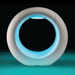 Lune LED Table Lamp - White / Multicolor