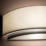 Miris Wall Sconce - Brushed Nickel / White