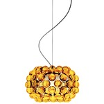 Caboche Piccola Pendant - Chrome / Yellow Gold