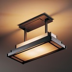 Steppe Rectangle Drop Semi Flush Ceiling Mount