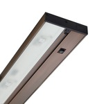 UPL Pro-Series LED Undercabinet Light - Brushed Bronze / Clear