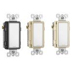 Nightlight Switch - Overstock - Discontinued - Ivory / Black / Light Almond