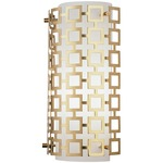 Parker Wall Light - Antique Brass / Frosted