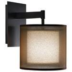 Saturnia Wall Sconce - Deep Patina Bronze /