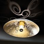 Decor Oro Ceiling Mount - White / Gold
