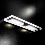 Confine Wall Sconce - Chrome / Clear