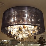 Midnight Pearl Ceiling Flush Mount