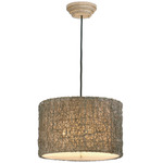 Knotten Rattan Suspension - Rubbed Ivory /