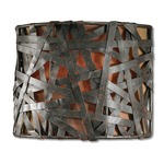 Alita Wall Sconce -  / Black Rust