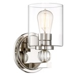 Studio 5 Wall Light - Polished Nickel