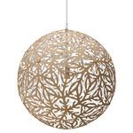 Sola Pendant - Bamboo / Natural / White
