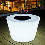Bass Bluetooth Indoor / Outdoor LED Coffee Table - White