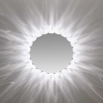 Marilyn Round Mirror - Chrome /