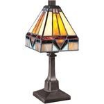 Tiffany 1021 Table Lamp - Vintage Bronze / Tiffany