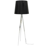 Magnum Floor Lamp - Chrome / Black