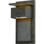 Zephyr 8414 Outdoor Wall Light - Muted Bronze