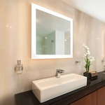 Celestino Lighted Mirror - Mirror / Frosted
