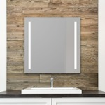 Charisma Lighted Mirror - Mirror / Frosted