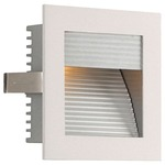 Step Light LED Wall Mount W / Corrugated Faceplate