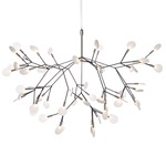 Heracleum II LED Suspension - Nickel / White
