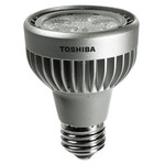 Dimmable LED PAR20 Medium Base 9W 120V 25 Deg 2700K