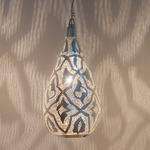 Elegance Filigrain Pendant - Silver
