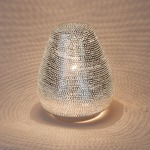 Tahrir Mini Filisky Table Lamp - Silver