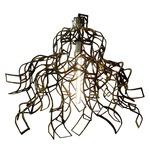 Flora Pendant - Rubbed Golden Bronze