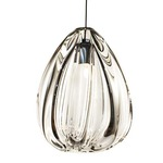 FJ Barnacle Pendant  - Antique Bronze / Clear