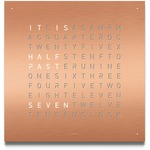Qlocktwo Wall Clock English Version -  / Copper