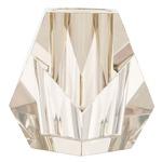 Gemma Vase - Champagne Crystal