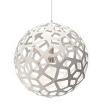 Coral Pendant - Bamboo / White / White