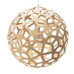 Coral Pendant - Bamboo / Natural