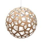 Coral Pendant - Bamboo / Natural / White