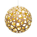 Coral Pendant - Bamboo / Natural / Yellow