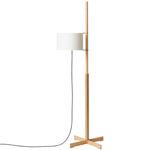 TMM Floor Lamp - Beech / White