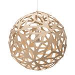 Floral Pendant - Bamboo / Natural / Natural