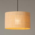 Nagoya Plug-in Pendant - Wood