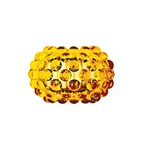 Caboche Media Wall Sconce - Aluminum / Yellow Gold / White