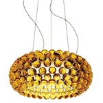 Caboche Media Suspension - Chrome / Yellow Gold