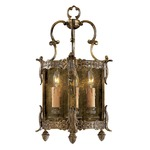 Signature N2339 Wall Light - Antique Bronze Patina / Clear