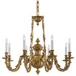 Signature N700408 Chandelier - Brass