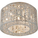 Inca Ceiling Light Fixture - Polished Chrome /