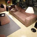 Liz Terra D Cone Shade Floor Lamp W / Foot Dimmer -  /