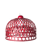 Emperor Small Suspension - Red / Clear