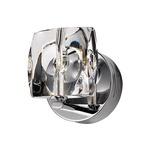 Neo Bathroom Vanity Light - Polished Chrome / Crystal