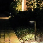 Round Outdoor Path Light by WAC Lighting