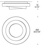 Loop-Line Ceiling Flush Mount -  /