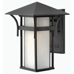 Harbor Outdoor Wall Light - Satin Black /