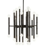 Meurice Chandelier - Deep Patina Bronze /
